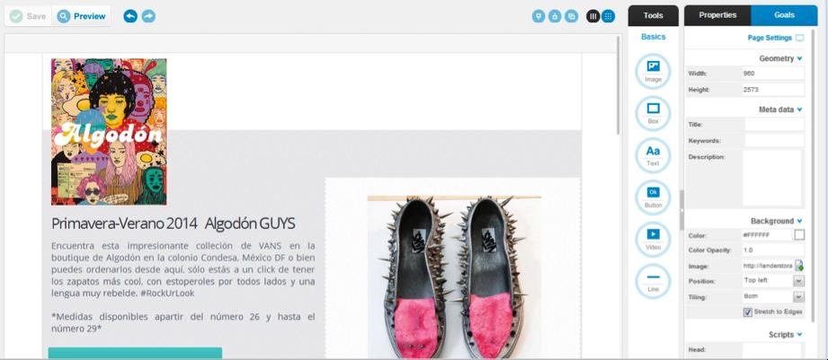 Lander excelente app para dise ar tu landing page - App para disenar ...